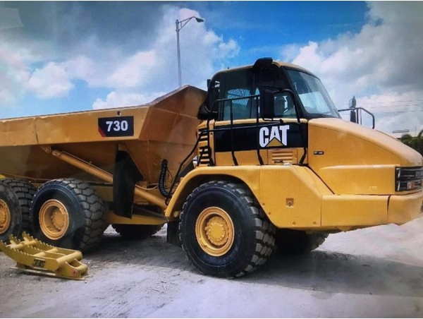 USED CATERPILLAR 730 ARTICULATED TRUCK