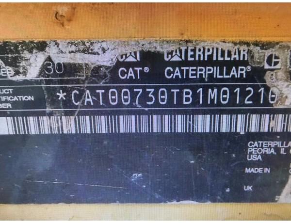 USED CATERPILLAR 730 ARTICULATED TRUCK